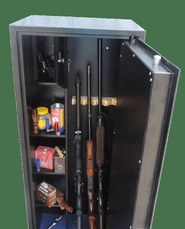 Оружейный сейф на 4 ружья.Оружейный сейф 4 ствола. Оружейный шкаф на 4 ствола