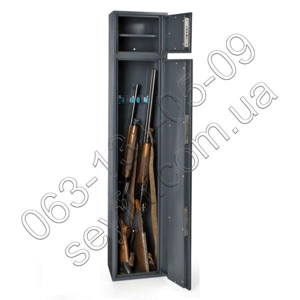Сейф оружейный с отделением для патронов (документов или пистолета)