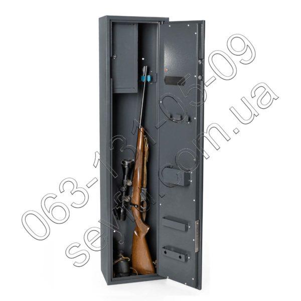 Оружейный сейф с электронно-кодовым замком на 1 ружьё