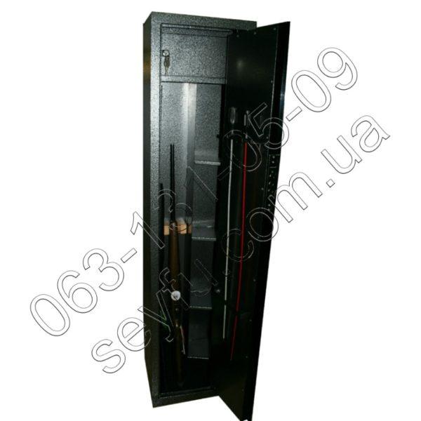 Усиленный оружейный сейф 3 ствола
